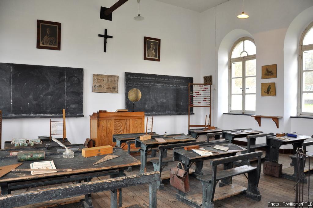 ancienne classe d'école