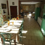 Les Lhommalinnes gite 2 salon-salle a manger