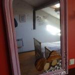 Les Lhommalinnes gite 1 miroir chambre 2