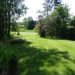 Les Lhommalinnes tuin van het huisje 1